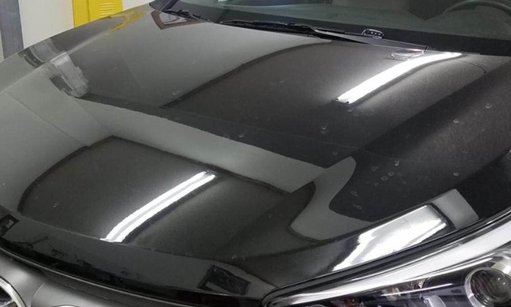 After: 2017 Hyundai Santa Fe - Hood