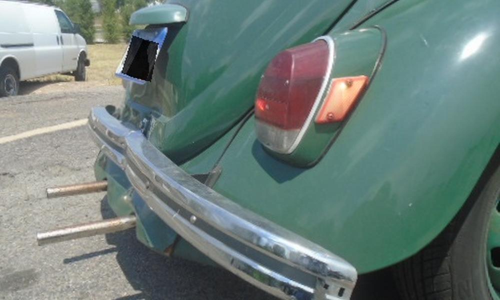 Before: 1971 VW Beetle