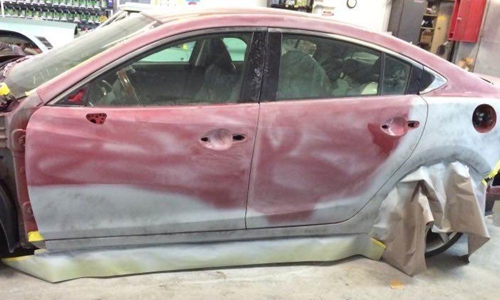 Before: 2014 Mazda M6