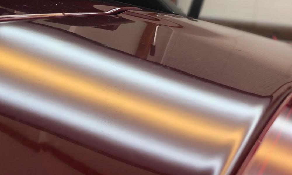 After: 2015 Subaru Outback - Hood