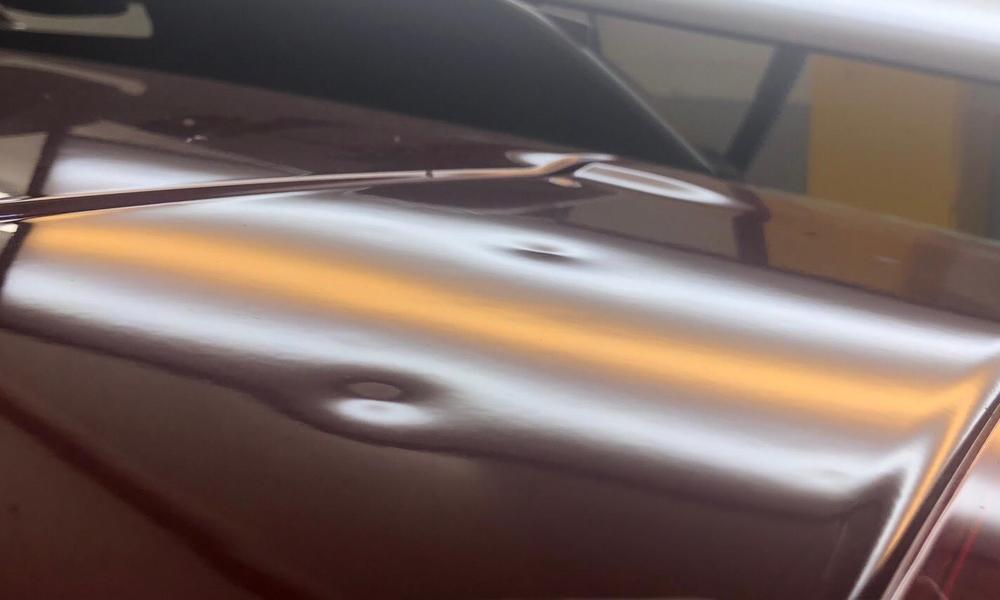 Before: 2015 Subaru Outback - Hood